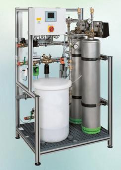 Gruenbeck - Cv water installatie