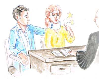 Een advocaat bij ontslag